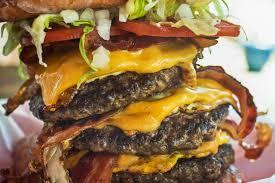 Really Big cheeseburger