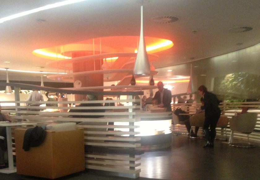 Heathrow Airport Lounge