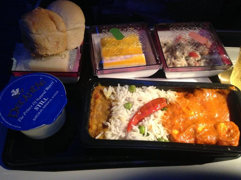 Qatar Airways Food