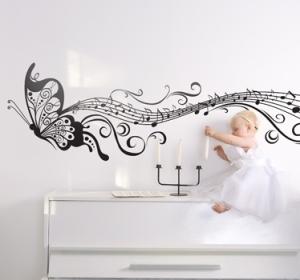 Musical-butterfly-wall-sticker--5053