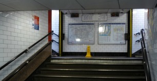 Taking the wrong exit is the world's worst mistake. No matter how seasoned you are, taking the wrong exit out of a tube station and ending up in what can only be described as Narnia is a complete disaster. In drastic times, you may even need to go back in and start again. Joy!
