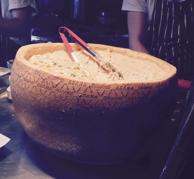 The Cheese Wheel